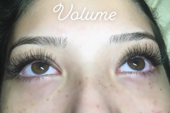 Volume eyelash extensions by Chelsea - Queen of Hearts Maui Hawaii