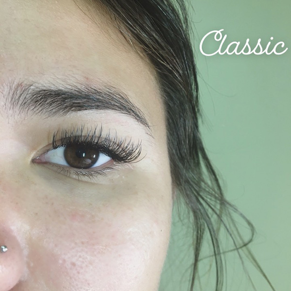 Classic eyelash extensions by Chelsea - Queen of Hearts Maui Hawaii